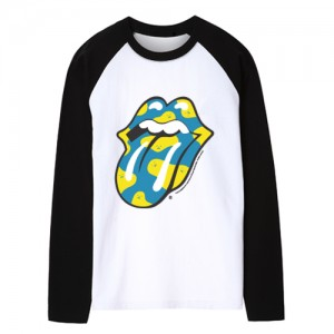 [THE ROLLING STONES] ROLLING MONSTERS BLUE DOT TEE