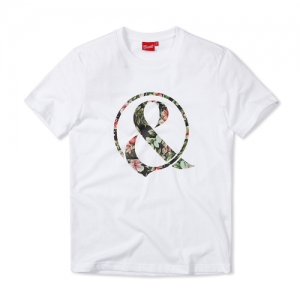 [OF MICE & MEN] FLORAL AMPERSAND WHITE