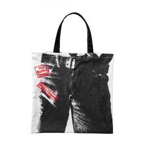 [THE ROLLING STONES] STICKY FINGERS TOTE BAG BLACK
