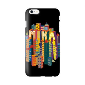 [MIKA] Galaxy S5/S6/Note4/Note5 CASE CITY BK