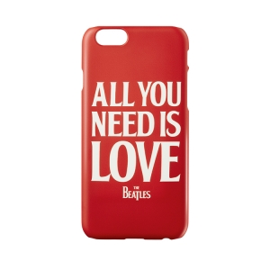 [The Beatles] IPHONE5/5s/6/6 Plus AYNIL RED