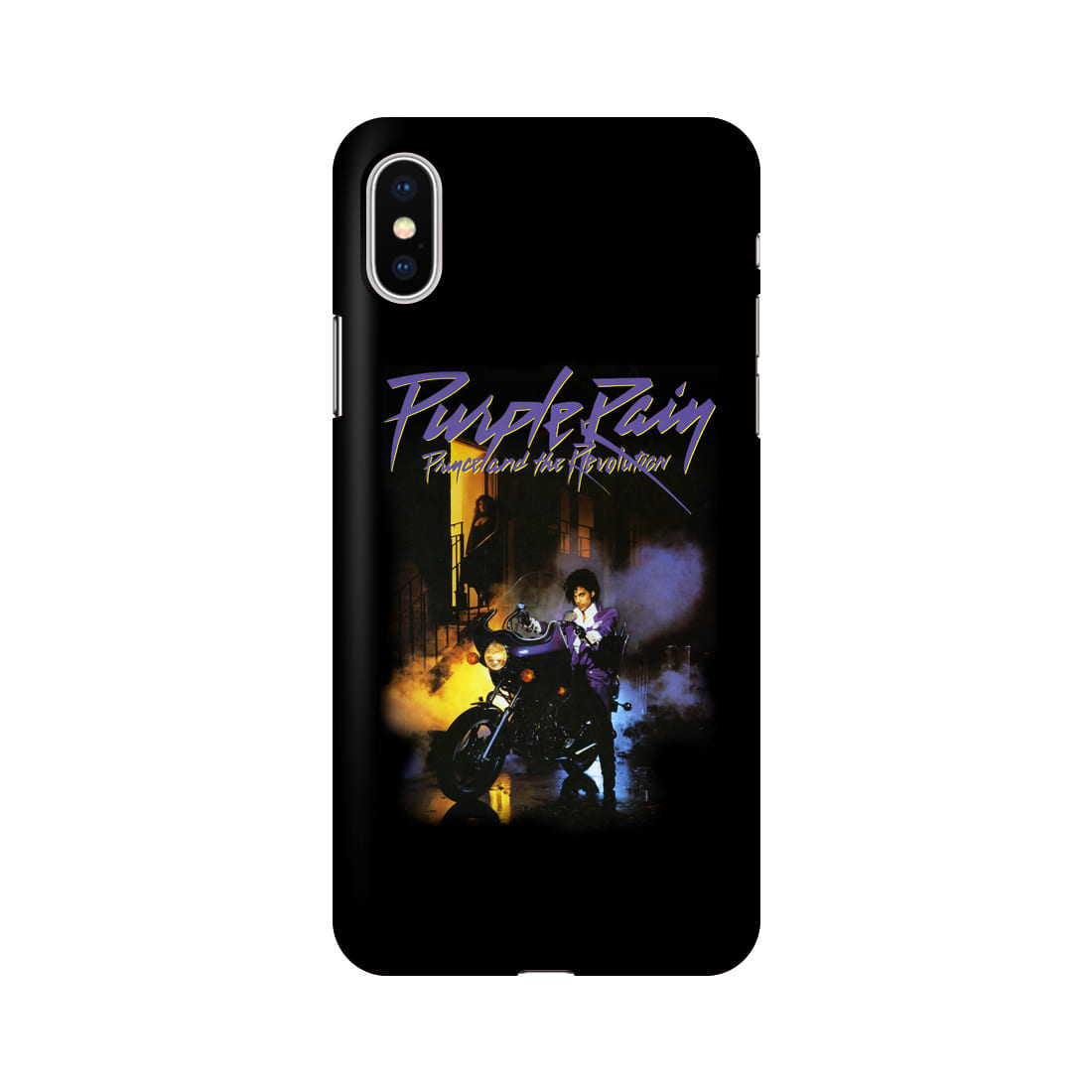 PRINCE PURPLE RAIN COVER IPHONE X CASE (BRENT188)