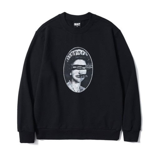 SP SAVE THE QUEENS SWEATSHIRT BK (BRENT1797)