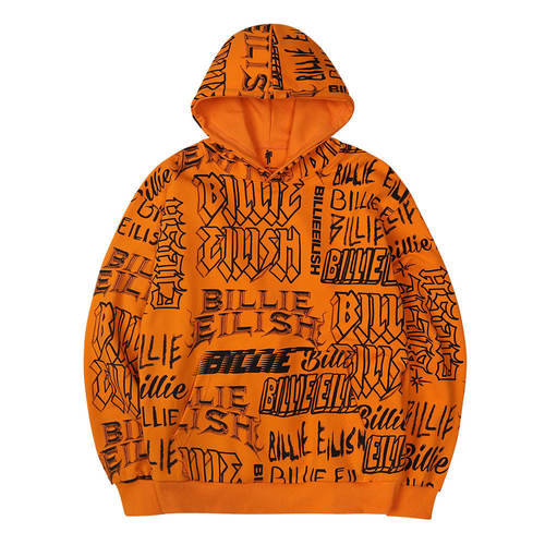 BE LOGO COLLAGE HOODIE OR (BRENT1961)