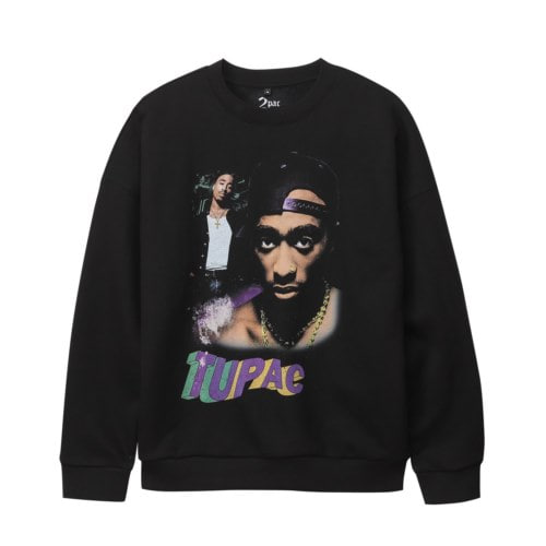 TUPAC WAVY 90S COLLAGE SS (BRENT2044)