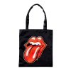 [THE ROLLING STONES] CLASSIC TONGUE TOTE BAG BLACK