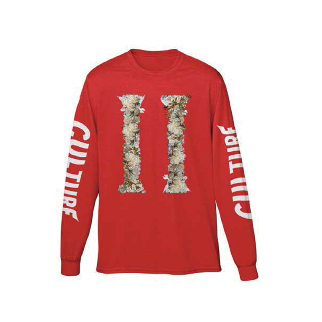 [Migos] CULTURE II LONG SLEEVE RED