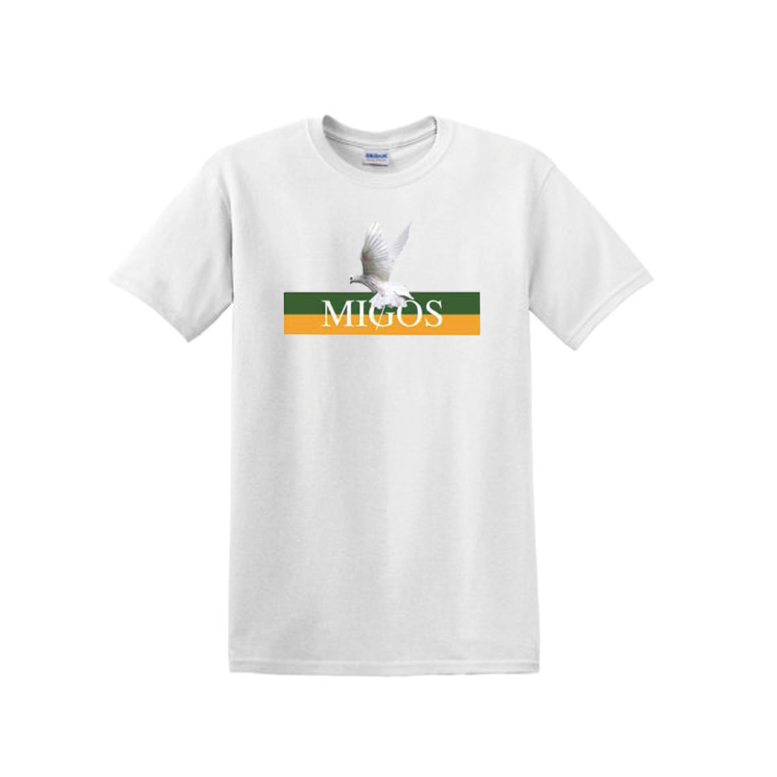 [Migos] DOVE BAND TEE WHITE