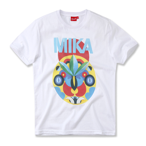 [MIKA] TRIBAL MASK WHITE