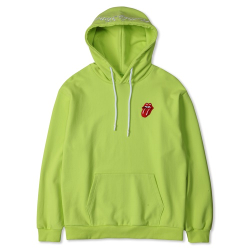 TRS CLASSIC TONGUE COLOR HOODIE YELLOW (NEON)