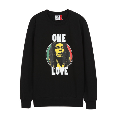 [BOBMARLEY] ONE LOVE SWEATSHIRTS (black)