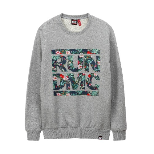 [RUNDMC] SAFARI CREWNECK GREY
