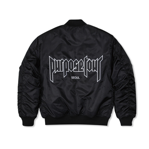 PURPOSE TOUR MA-1 BLACK