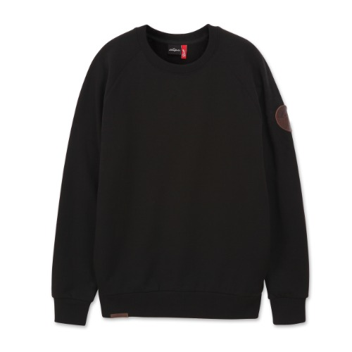 [THE ROLLING STONES] 1962 LOGO CREWNECK BLACK