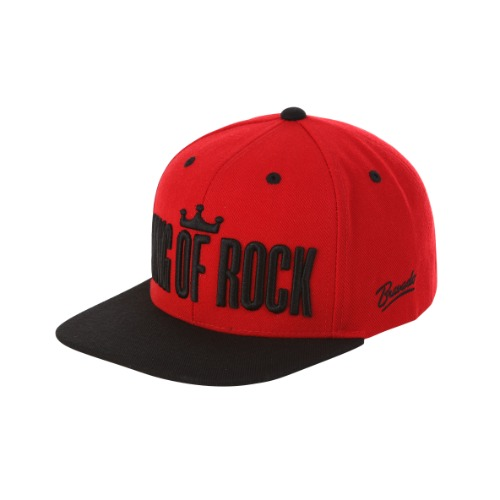 [RUNDMC] KING OF ROCK SNAPBACK RED